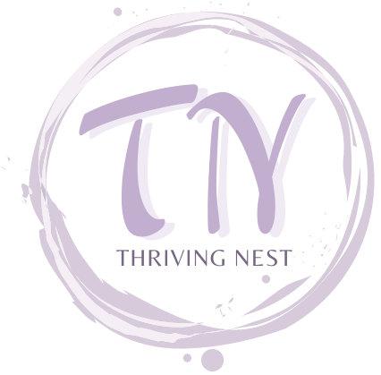 thriving nest logo.