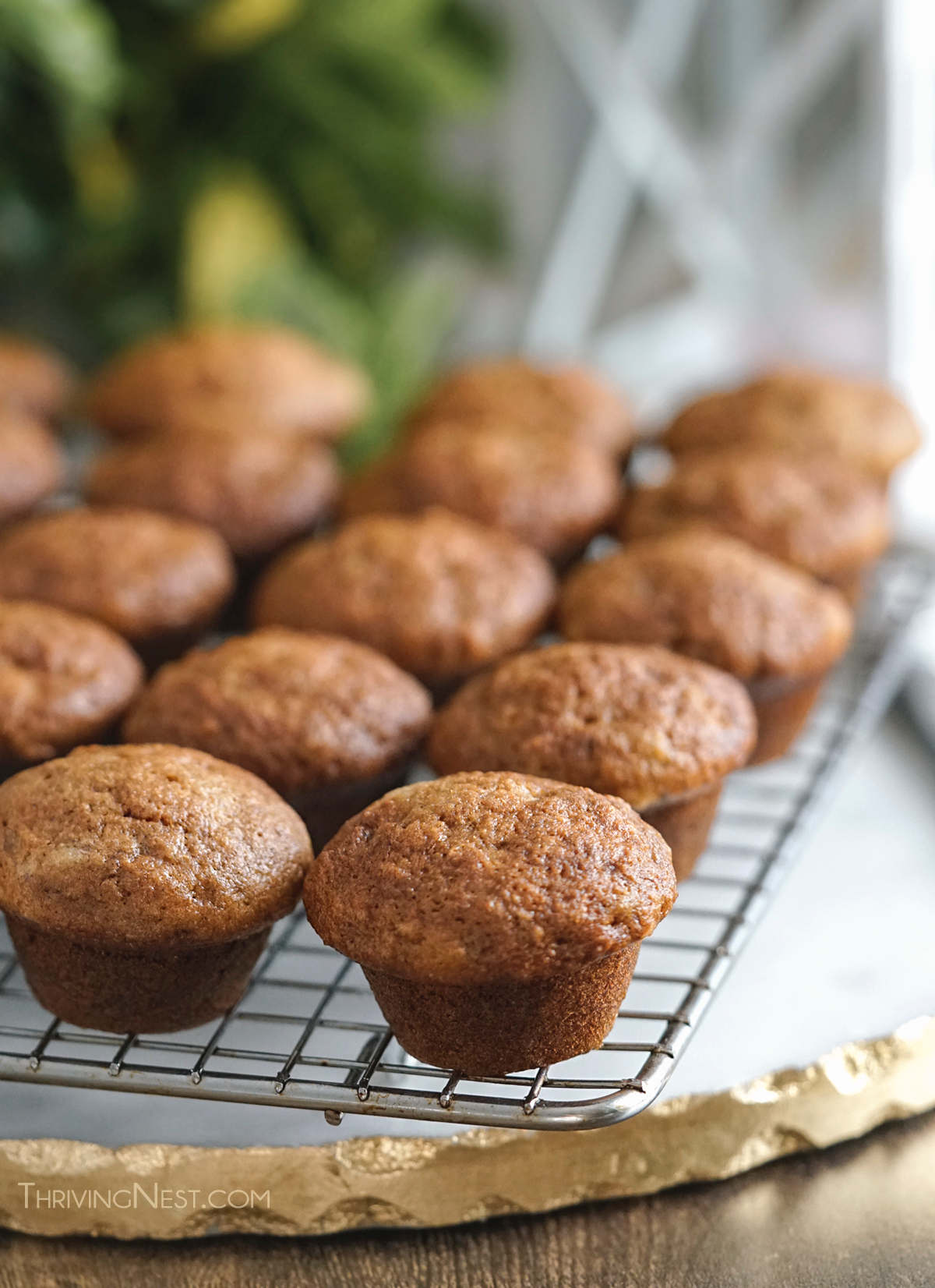 Baby banana muffins baby led weaning.