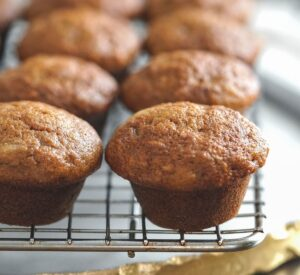 Healthy Banana Muffins For Baby (BLW)