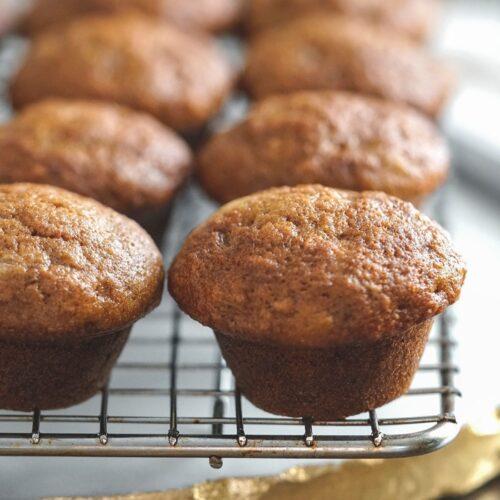 baby banana muffins recipe