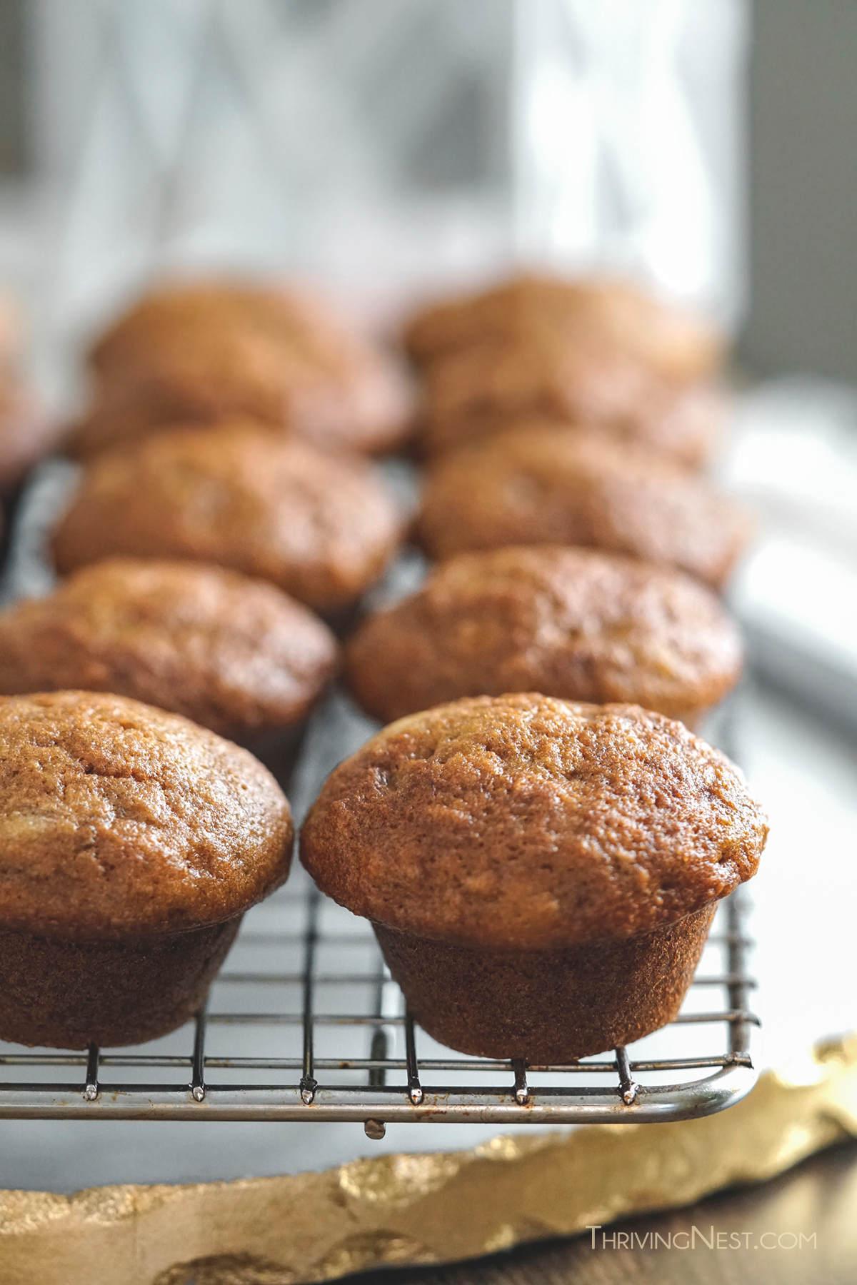 Baby muffin recipe with banana.
