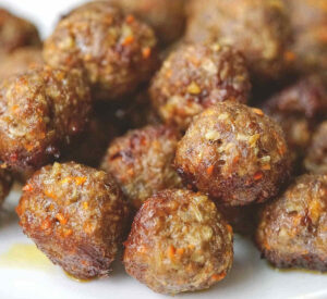 Soft Beef Meatballs For Baby (BLW) Toddler, No Egg