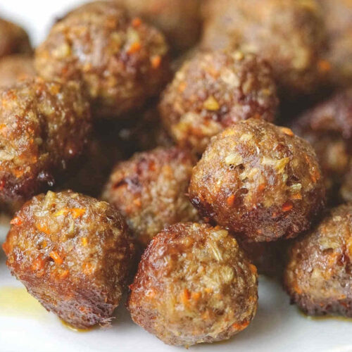 beef meatballs for baby toddler.